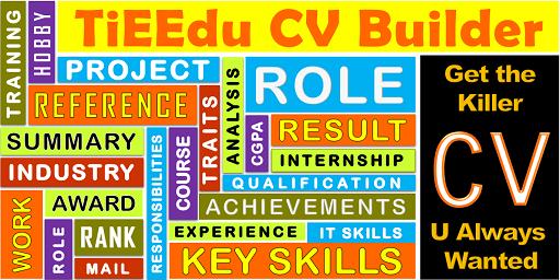 TiEEdu-CV-Builder
